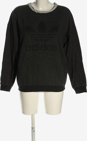 ADIDAS Sweatshirt in S in hellgrau / schwarz, Produktansicht