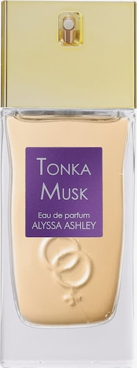 Alyssa Ashley Eau de Parfum 'Tonka Musk' in transparent, Produktansicht