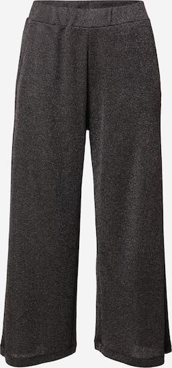 Q/S designed by Pantalon en noir chiné / argent, Vue avec produit