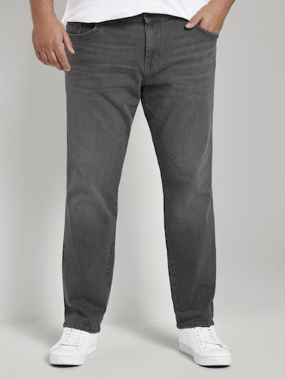 TOM TAILOR Men Plus Jeans in grey denim, Modelansicht