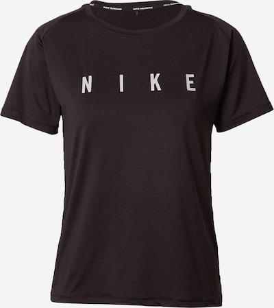 NIKE Koszulka funkcyjna 'Miler Run Division' w kolorze czarny / białym, Podgląd produktu