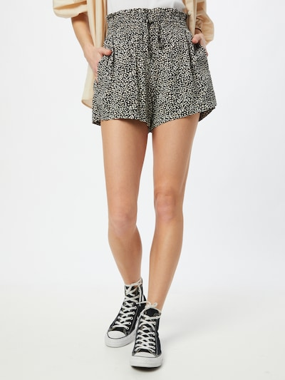 Pantaloni Abercrombie & Fitch di colore nero / bianco, Visualizzazione modelli