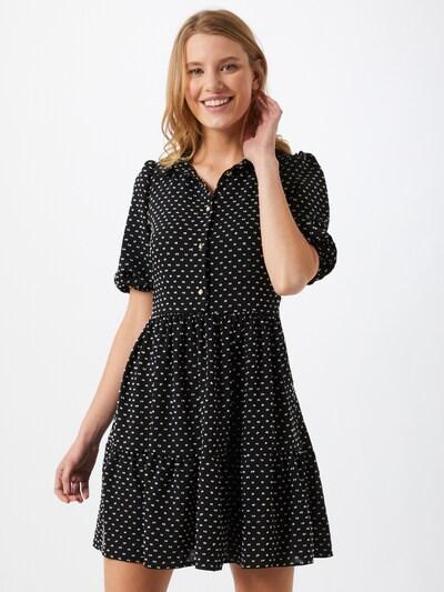 Closet London Kleid in schwarz / weiß, Modelansicht