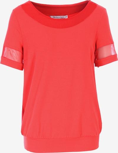 HELMIDGE Shirt in rot, Produktansicht