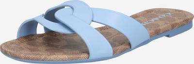 COACH Pantofle 'ESSIE' - světlemodrá / šeříková, Produkt