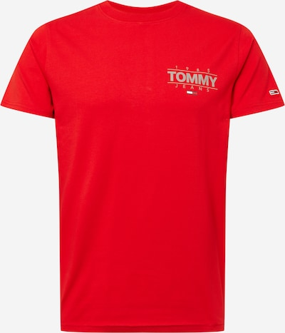 Tommy Jeans Shirt in Grey / Red / White, Item view