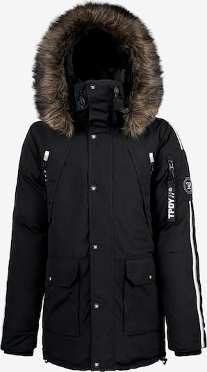 trueprodigy Winterjacke ' Bruce ' in schwarz, Produktansicht