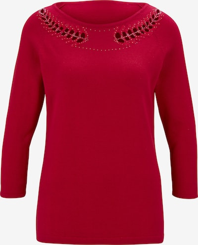 Patrizia Dini by heine Пуловер в червено, Преглед на продукта