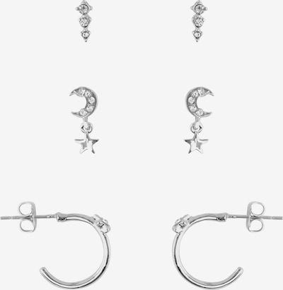PIECES Uhani | srebrna barva, Prikaz izdelka