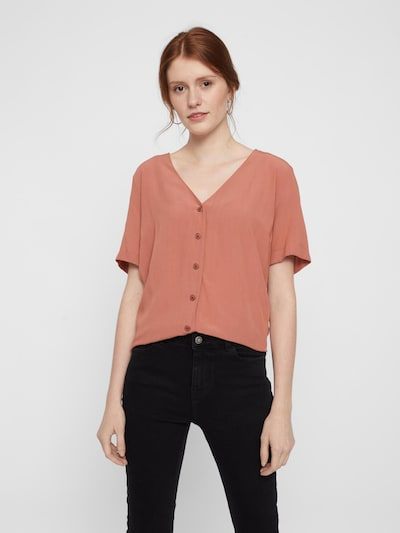 PIECES Blouse 'CECILIE' in Auburn, View model