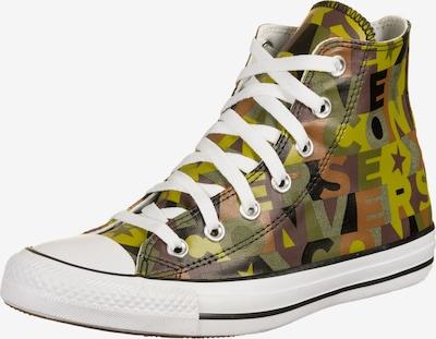 CONVERSE Sneaker 'Chuck Taylor All Star' in braun / grün / schwarz / weiß, Produktansicht