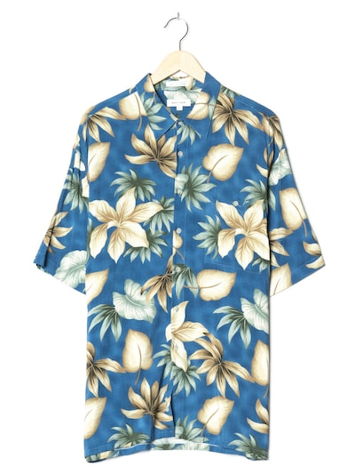 PIERRE CARDIN Hawaiihemd in XXL-XXXL in saphir, Produktansicht