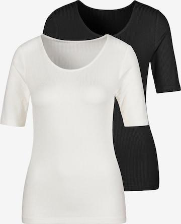 LASCANA Shirt in White