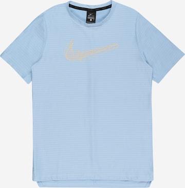 NIKE Performance shirt in Blue