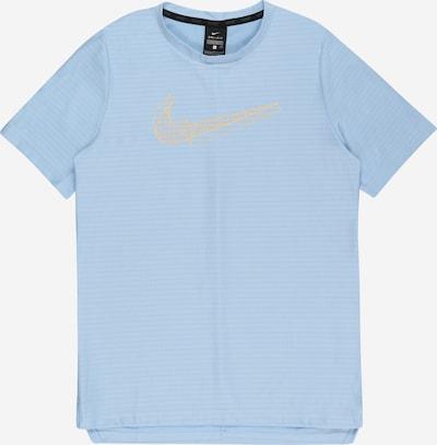 NIKE Sportshirt in hellblau / hellorange, Produktansicht