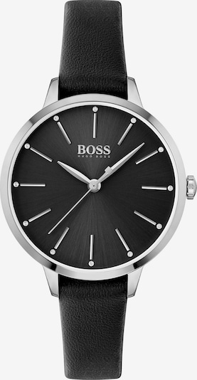 BOSS Casual Analog Watch in Black: Frontal view