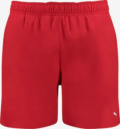 PUMA Shorts in rot: Frontalansicht