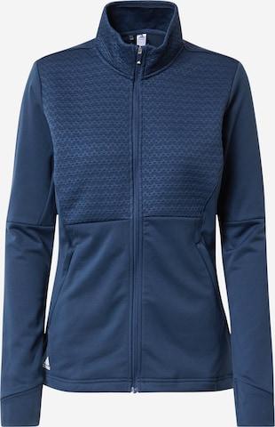 adidas Golf Athletic Jacket in Blue