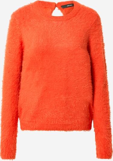 VERO MODA Trui 'Poilu' in de kleur Oranjerood, Productweergave