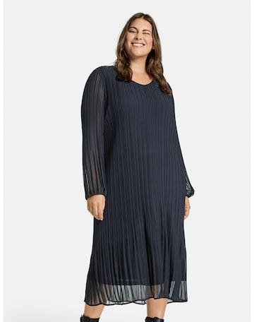 SAMOON Kleid in Blau