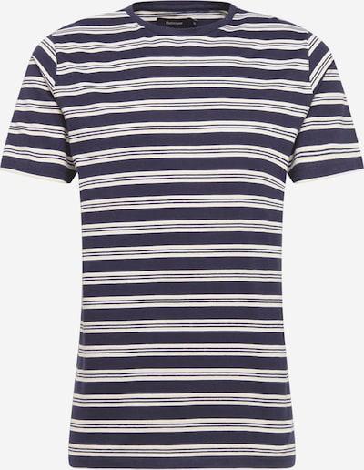 Tricou 'Jermane' Matinique pe bej / bleumarin, Vizualizare produs