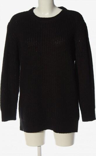 Urban Classics Grobstrickpullover in M in schwarz, Produktansicht