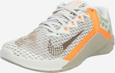NIKE Zapatos deportivos 'Metcon 6' en beige / naranja / blanco, Vista del producto