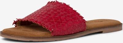 TAMARIS Pantolette in rot, Produktansicht