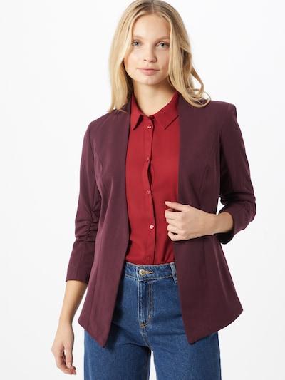 VILA Blazer in burgunder, Modelansicht