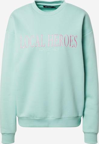 LOCAL HEROES Sweatshirt i grønn