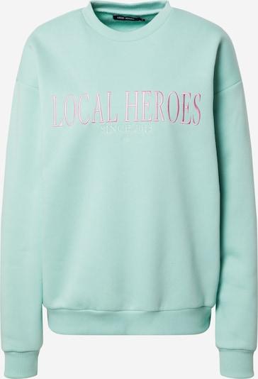 LOCAL HEROES Sweatshirt in Mint / Pink / White, Item view