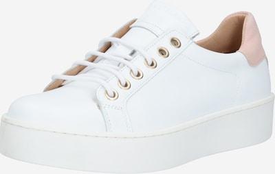 JUTELAUNE Sneaker in champagner / weiß, Produktansicht