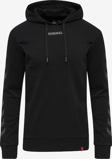 Hummel Sportsweatshirt in de kleur Grijs / Zwart, Productweergave