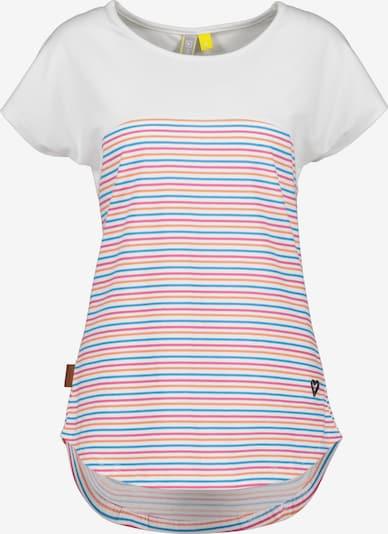 Maglietta 'Claire' Alife and Kickin di colore blu / salmone / rosa scuro / bianco, Visualizzazione prodotti