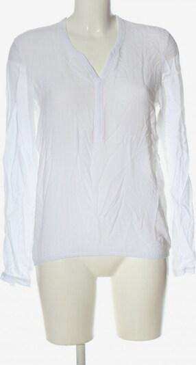 re.draft Langarm-Bluse in S in weiß, Produktansicht