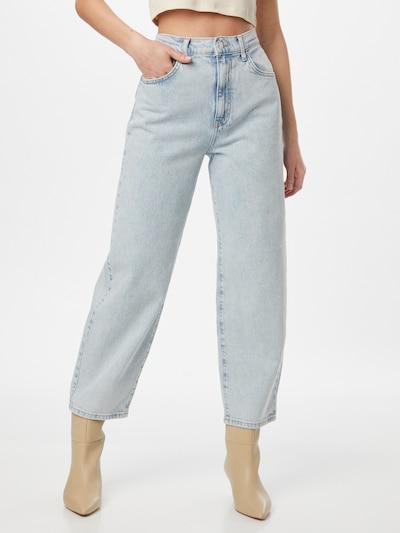 Gina Tricot Jeans 'Comfy' in blue denim, Modelansicht