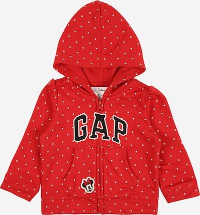 GAP Mikina s kapucí - červená / bílá, Produkt