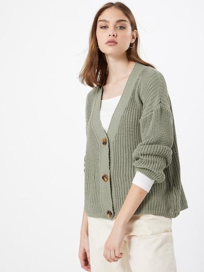 Hailys Strickjacke 'Kim' in khaki, Modelansicht