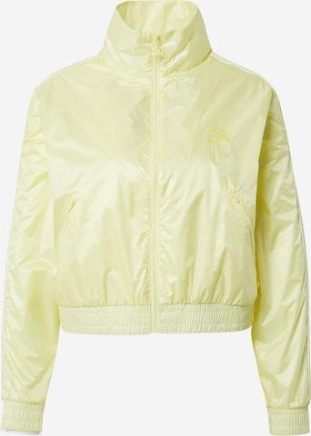 PUMAPrijelazna jakna - žuta boja