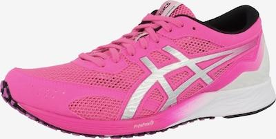 ASICS Laufschuh 'Tartheredge' in silbergrau / pink, Produktansicht