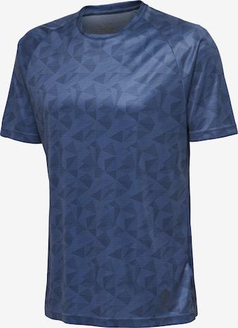 T-Shirt fonctionnel Hummel en bleu