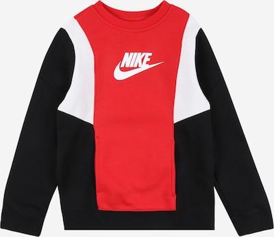 Nike Sportswear Sweatshirt 'Amplify' in rot / schwarz / weiß, Produktansicht