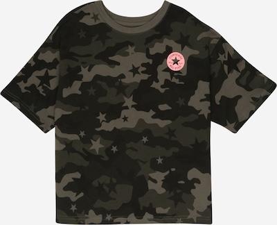 CONVERSE Shirt in braun / grün / pink / schwarz, Produktansicht