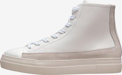 Sneaker înalt 'David' SELECTED HOMME pe culoarea pielii / alb, Vizualizare produs