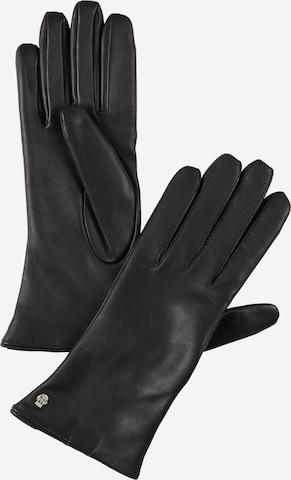 Roeckl Full finger gloves 'Hamburg' in Black