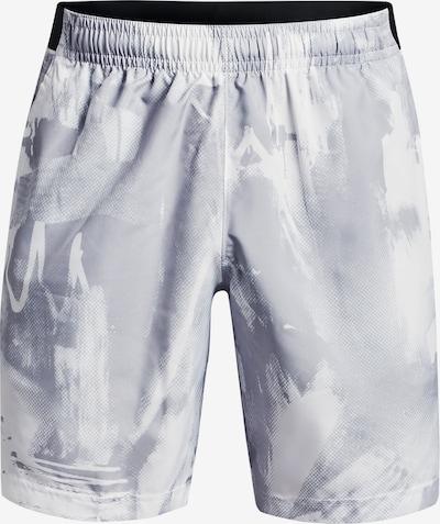 UNDER ARMOUR Sportbroek in de kleur Grijs / Lichtgrijs, Productweergave