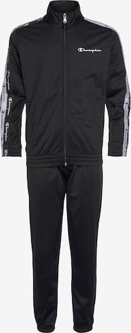 Survêtement Champion Authentic Athletic Apparel en noir