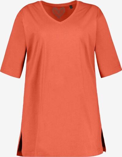 Ulla Popken T-shirt en corail, Vue avec produit