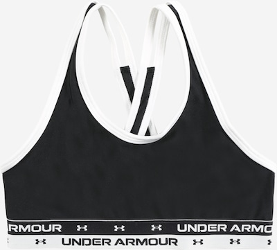 UNDER ARMOUR Sport-BH in schwarz / weiß, Produktansicht