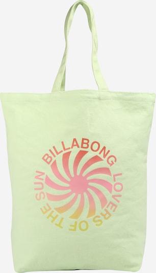 BILLABONG Cabas 'All about it' en jaune / vert clair / rose / rouge pastel, Vue avec produit
